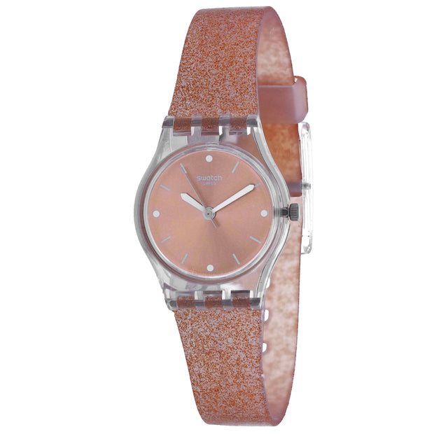 Swatch Women's Pinkindescent Rose Gold Dial Watch - LK354D