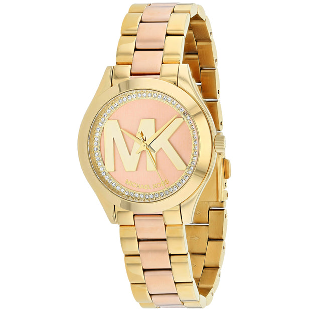 Michael Kors Women's Rose gold Dial Watch - MK3650