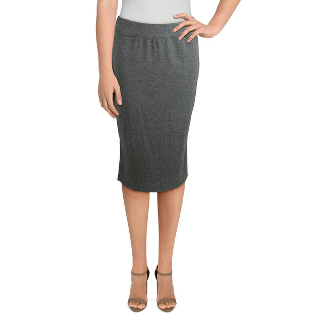 Philosophy Womens Knit Pull One Pencil Skirt