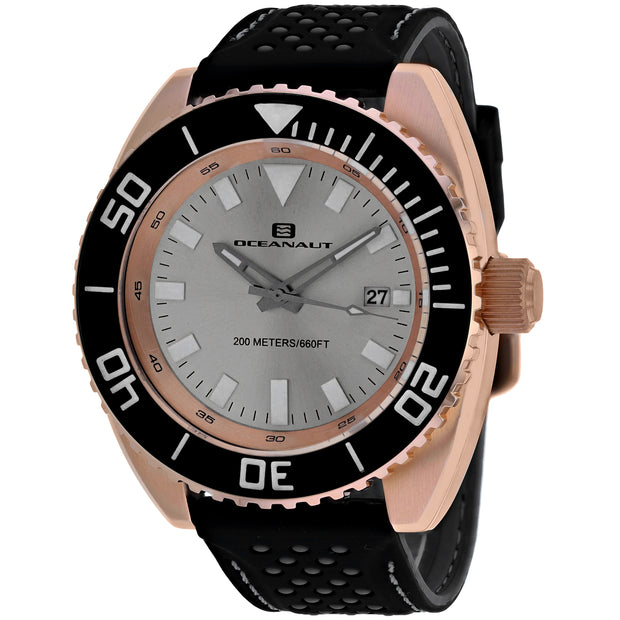 Oceanaut Men's Silver Dial Watch - OC0523