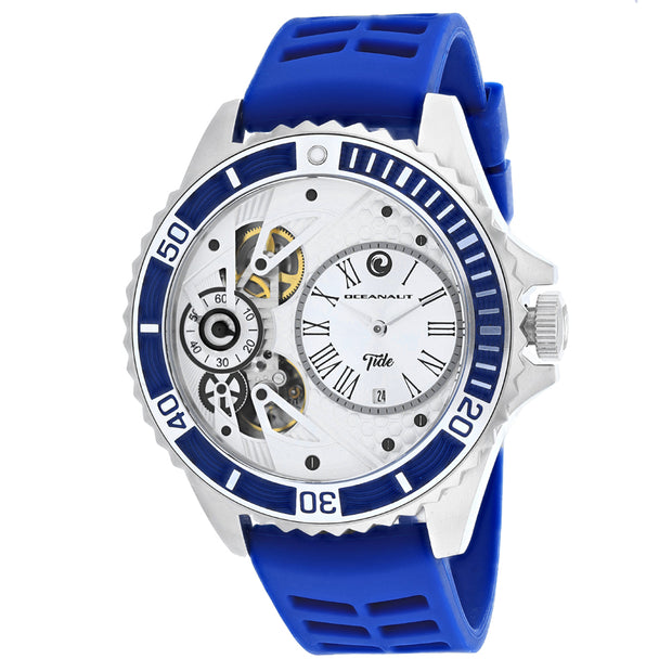 Oceanaut Men's Tide Silver Dial Watch - OC0992
