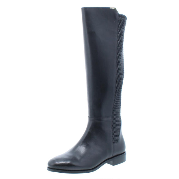 Cole Haan Womens Rockland Leather Knee-High Riding Boots