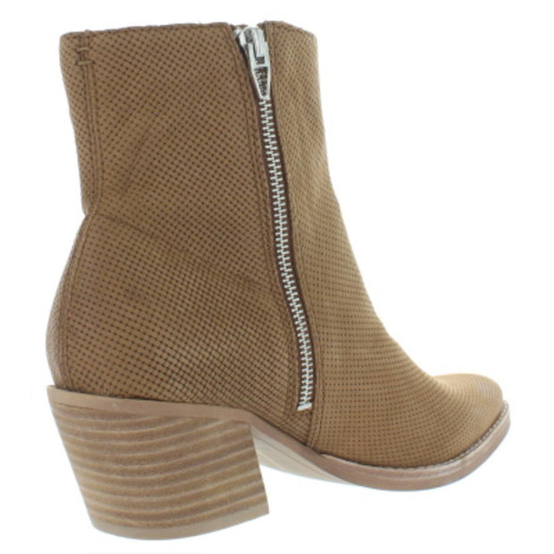 Dolce Vita Womens Asha Nubuck Dress Booties