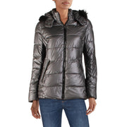 Womens Quilted Short Puffer Coat