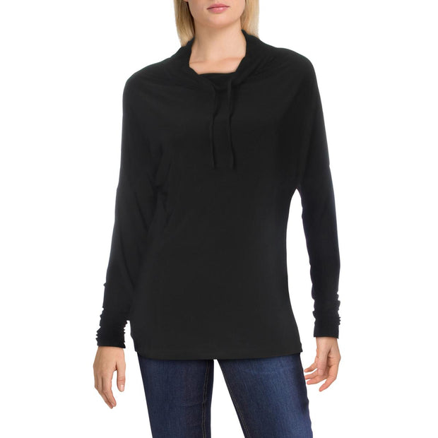 Womens Mock Neck Long Sleeves Pullover Top