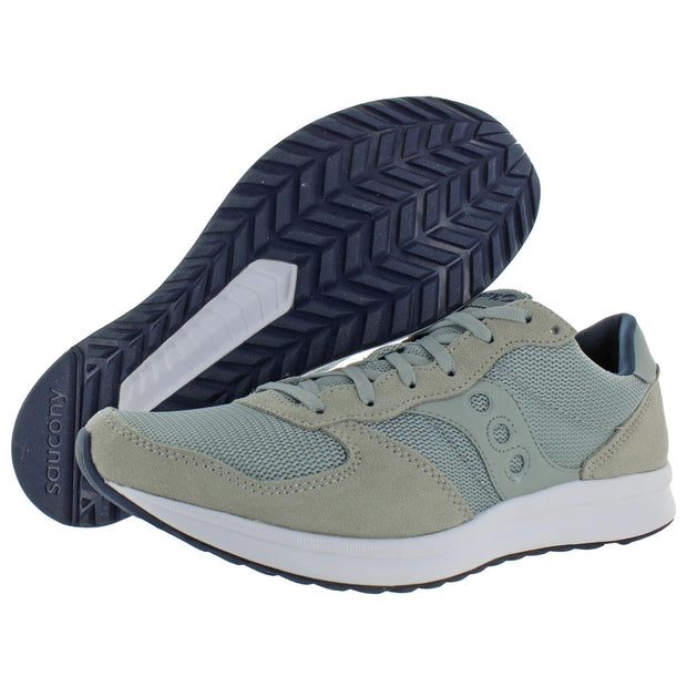 Saucony Mens Getaway Suede Memory Foam Running Shoes