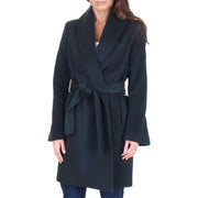Gabrielle Womens Winter Wool Blend Wrap Coat