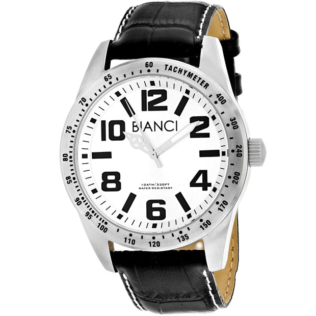 Roberto Bianci Men's Achille Silver dial watch - RB55092