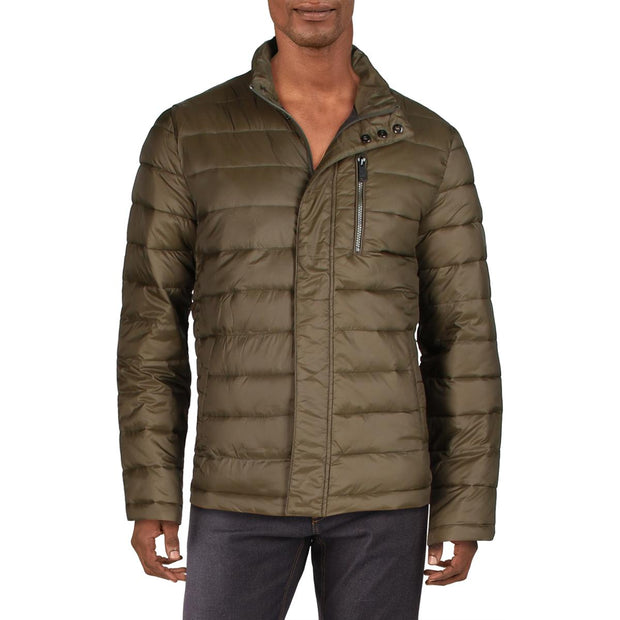 Mens Quilted Lightweight Bomber Jacket