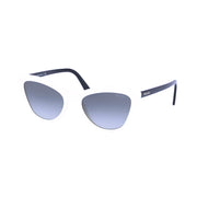 PRADA Ivory Black Cat Eye Sunglasses