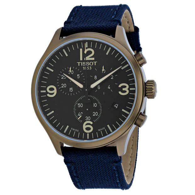 Tissot Men's Chrono XL Blue Dial Watch - T1166173705701