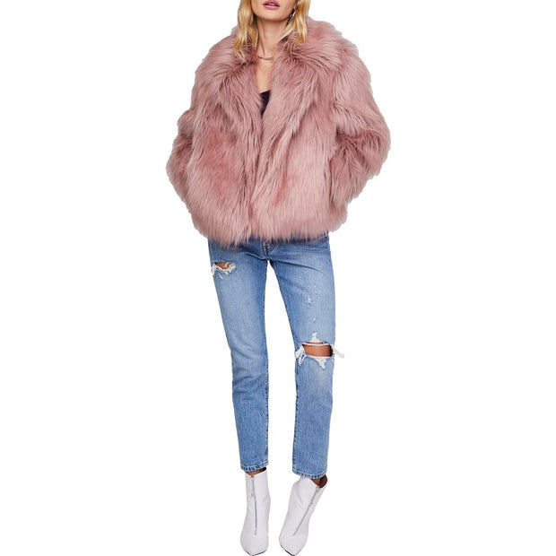 Adair Womens Winter Cold Weather Faux Fur Jacket