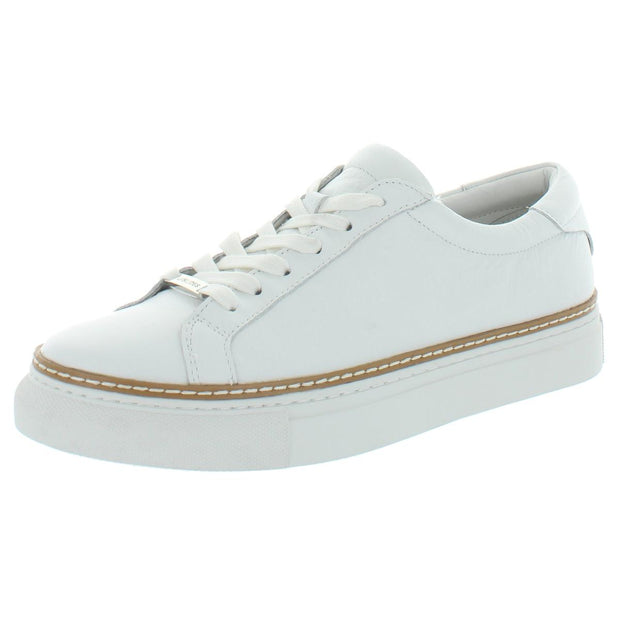 Leyla Womens Leather Low Top Fashion Sneakers