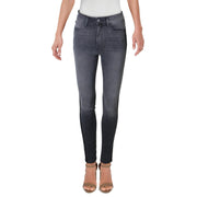 Womens High Rise Ankle Skinny Jeans