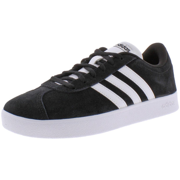 Adidas Boys VL Court 2.0 Suede Athleisure Fashion Sneakers