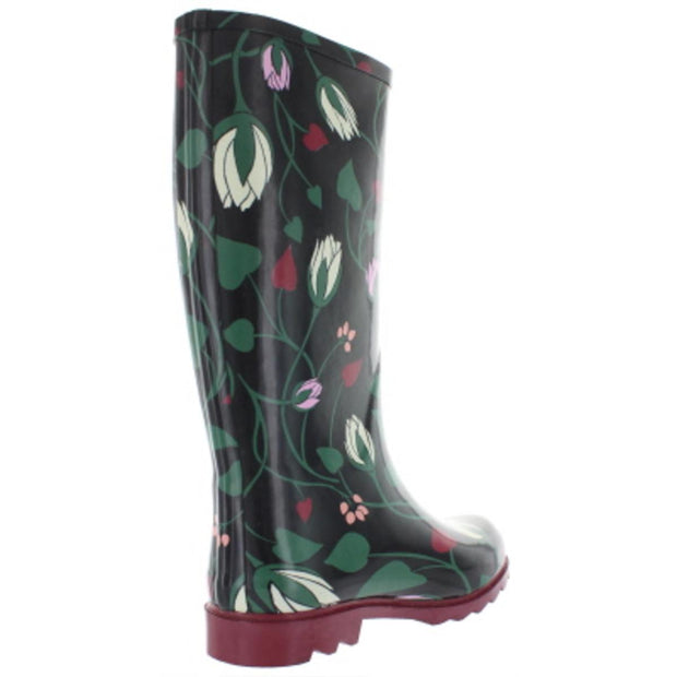 Kate Spade Womens Renata Pull On Tall Rain Boots