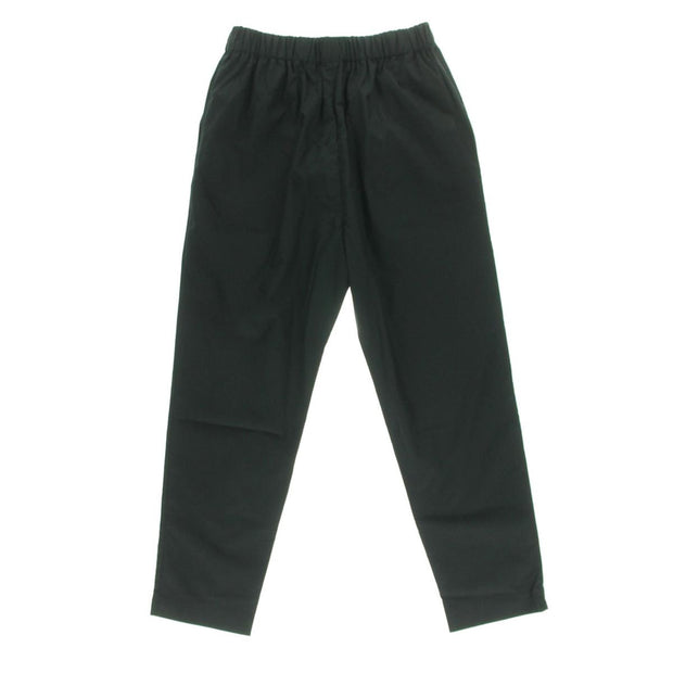 Womens Cotton Solid Cropped Pants