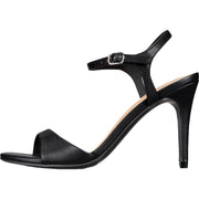 Material Girl Womens Briana  Faux Leather Ankle Strap Dress Sandals