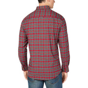 Maxwell Mens Tartan Performance Button-Down Shirt