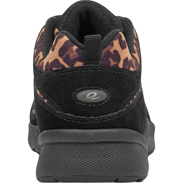 Romy 12 Womens Suede Leopard Print Fashion Sneakers