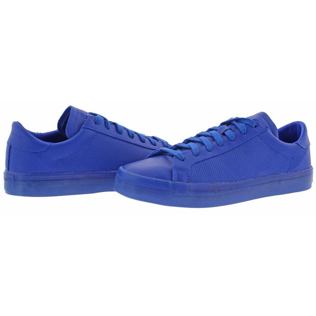CourtVantage ADICOLOR Mens Leather Athleisure Fashion Sneakers