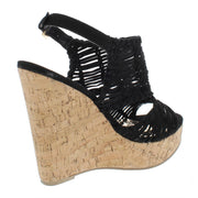 Bellini Womens Platforms Ankle Strap Wedges