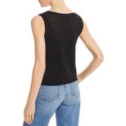 Theory Womens Crochet Lace Shell