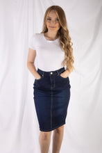 Load image into Gallery viewer, 5 Pocket Jean Skirt