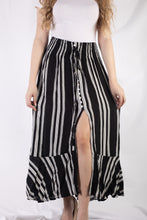 Load image into Gallery viewer, Stripe Maxi Skirt