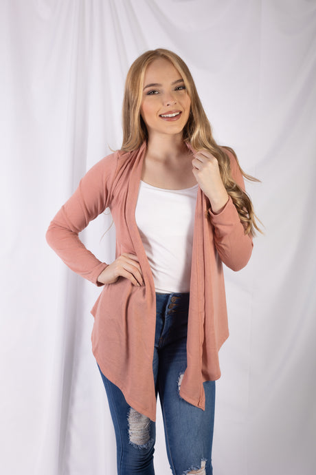 Asymmetrical Cardigan Top