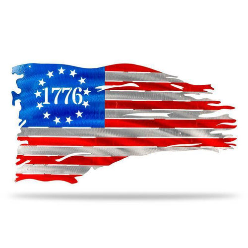1776 Flag - Redline Steel