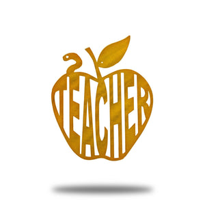 Teacher Apple - Redline Steel