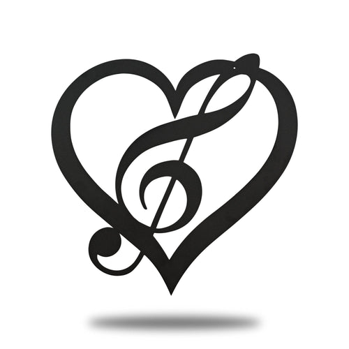 Music Heart - Redline Steel