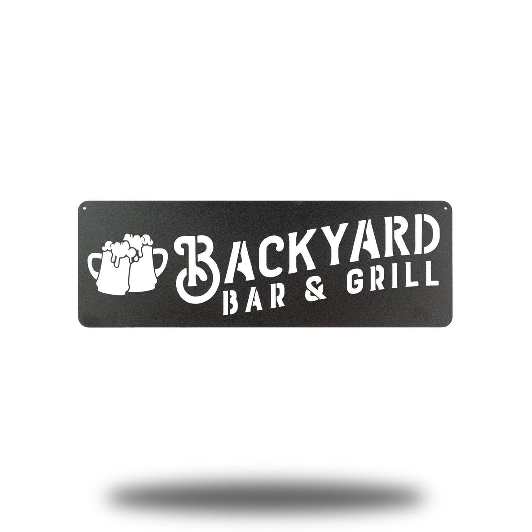 Backyard Bar & Grill - Redline Steel