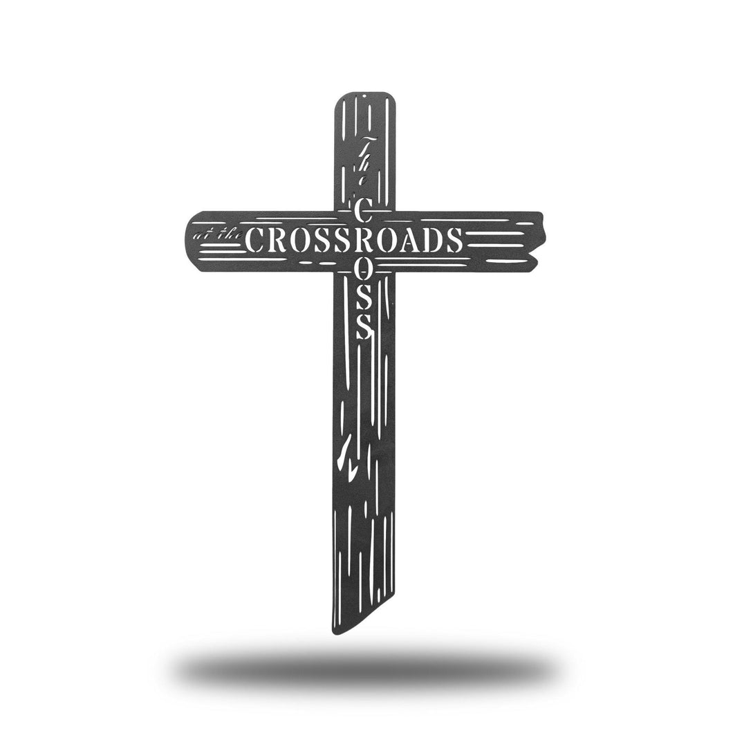 Cross at the Crossroads - Redline Steel
