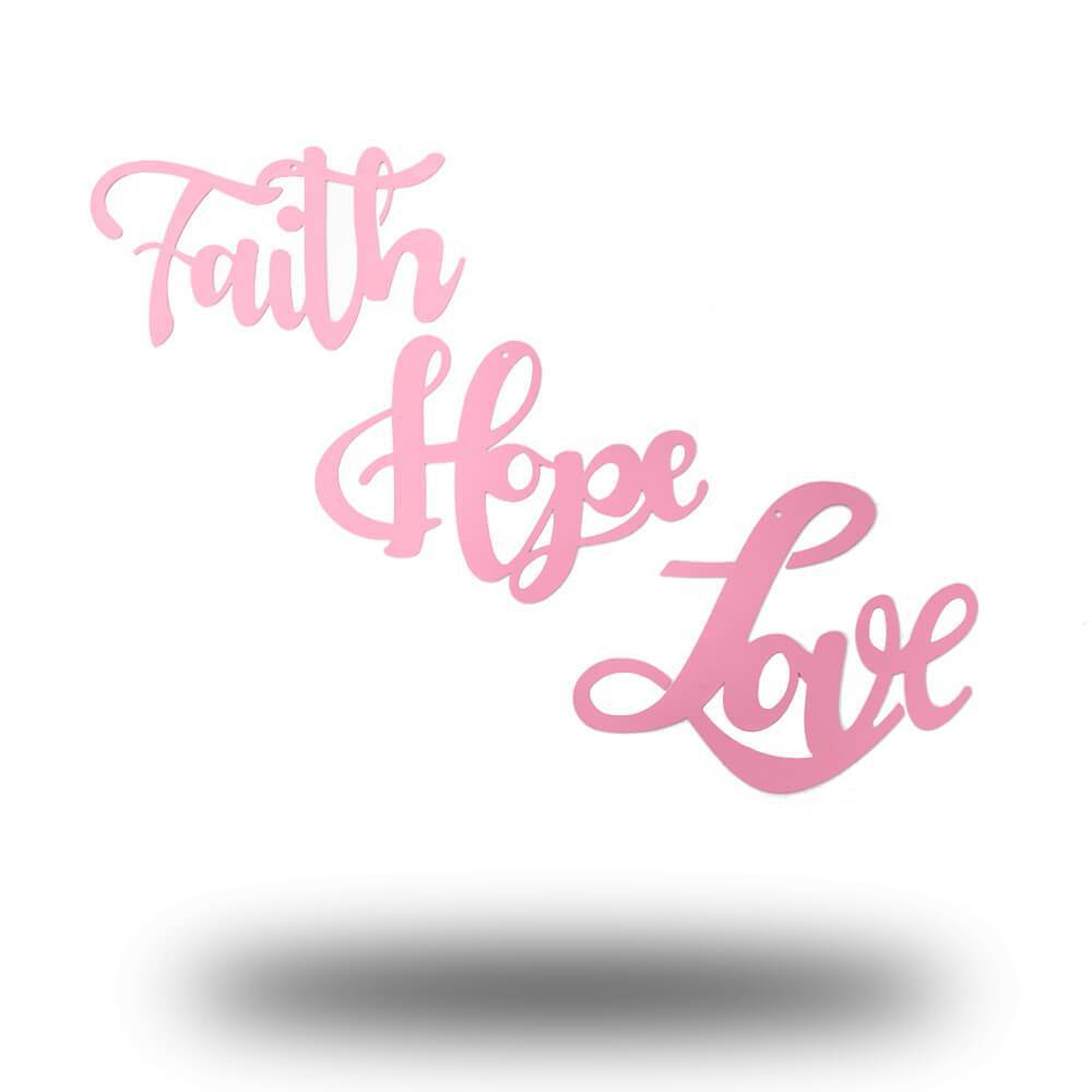 Faith + Hope + Love - Pink Collection Set - Redline Steel