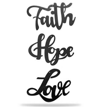 Load image into Gallery viewer, Love + Faith + Hope - Collection - Redline Steel