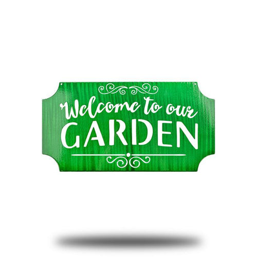 Welcome to our Garden - Redline Steel