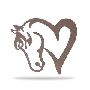 Horse Love - Redline Steel