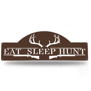 EAT SLEEP HUNT - Redline Steel