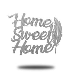 Home Sweet Home Feather - Redline Steel