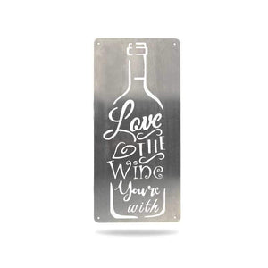 Love the Wine You're With - Redline Steel