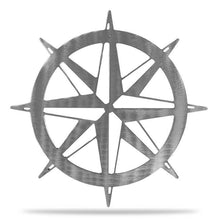Load image into Gallery viewer, Nautical Compass - Redline Steel