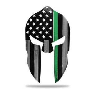 Spartan Helmet (Multi Color Option) - Redline Steel
