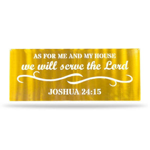 Serve the Lord - Redline Steel