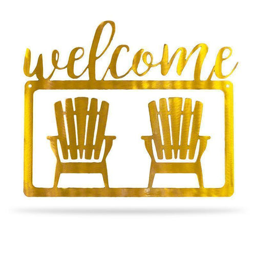 Welcome Chair - Redline Steel