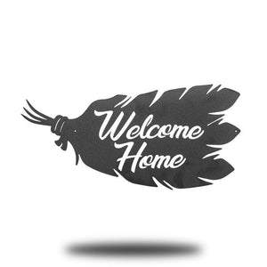 Welcome Home Feathers - Redline Steel
