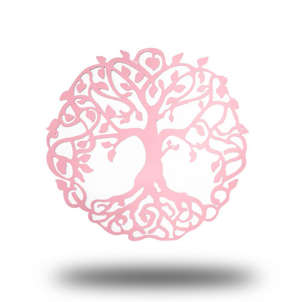 Pink - Tree of Life - Redline Steel