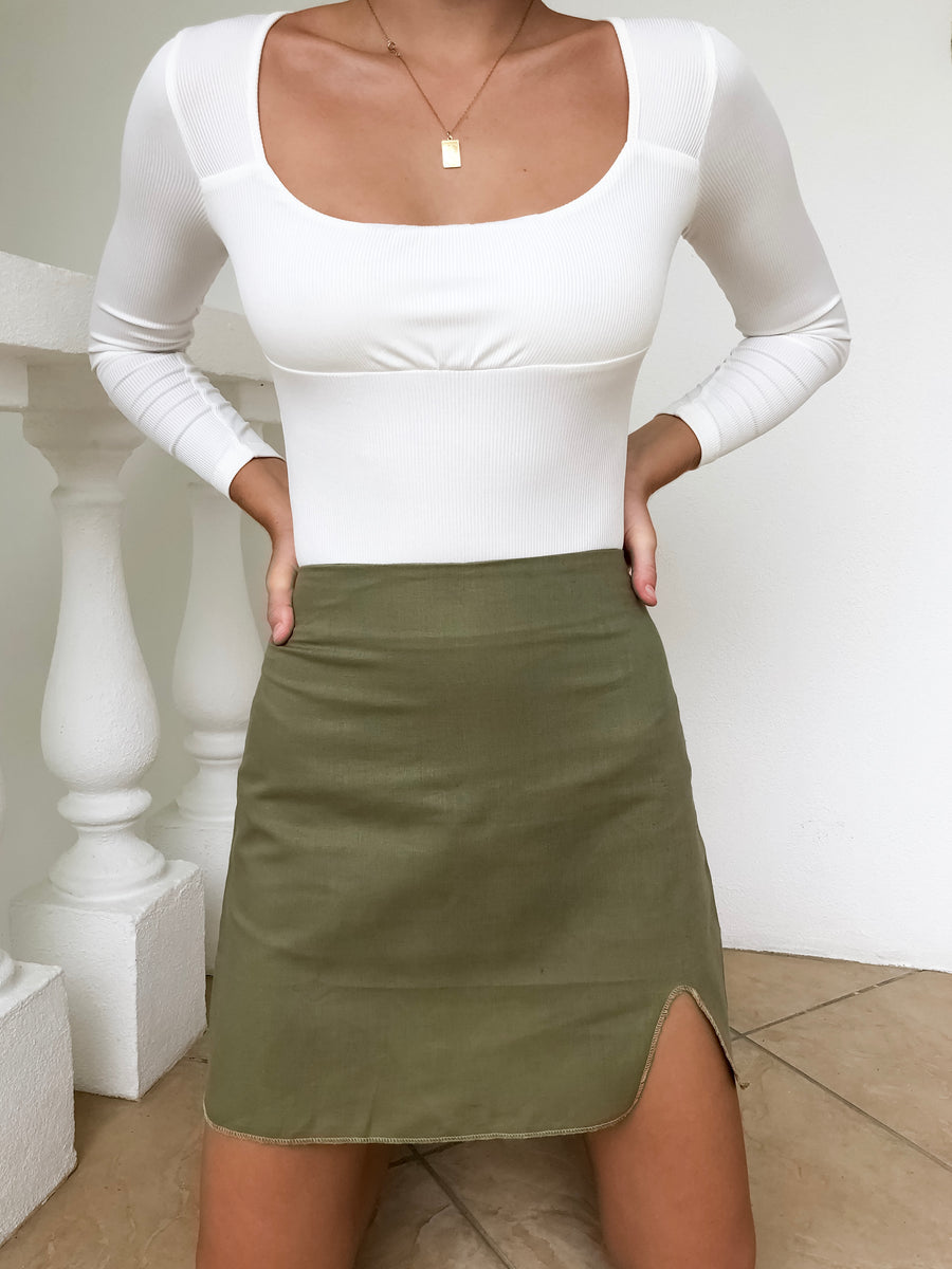 On The Spot Mini Skirt