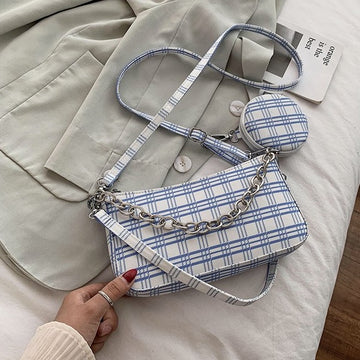 Paired Together Bag- White